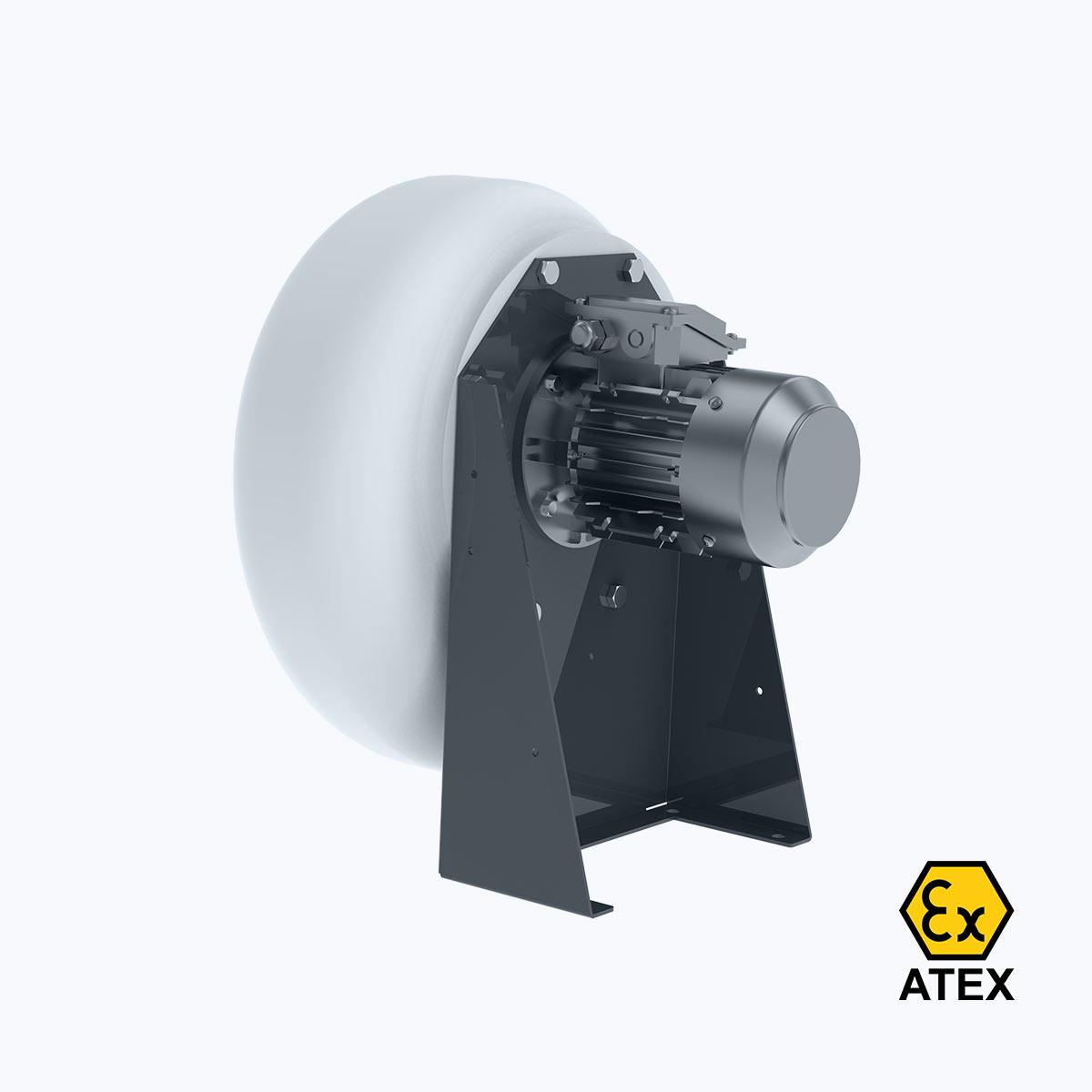 Ventinet.nl Plastic Ventilator Vn B Atex Motor
